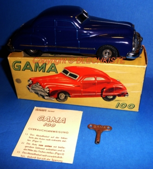 Gama Nr.100 Made in US-Zone